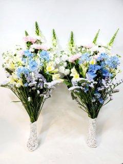 洋花のお供え花一対(2個で)