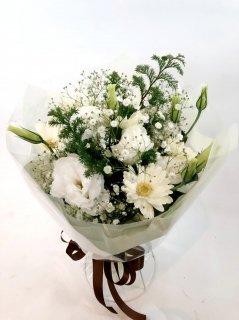 クリスマス白花束