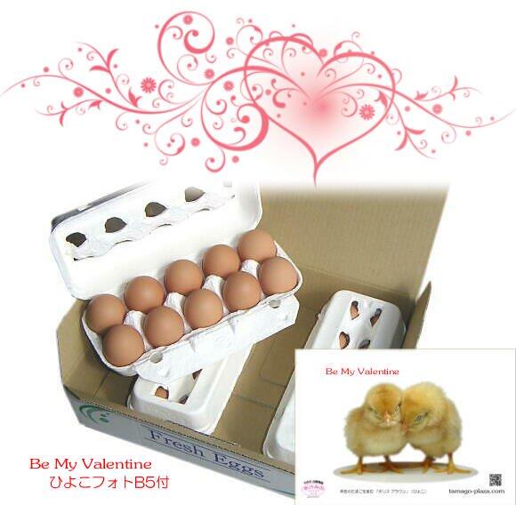 Be My Valentine 赤たまご30個入り (送料込み)