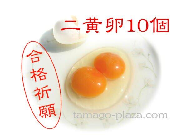 二黄卵10個入り (送料込み)