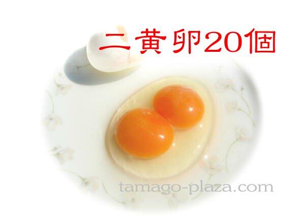 二黄卵20個入り (送料込み)
