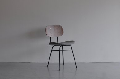 Plankton chair H (walnut x h gray) - ad(analogue from digital)