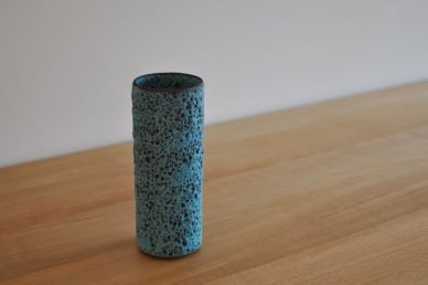 Medium Tube (Turquoise Volcanic Glaze) - Josh Herman