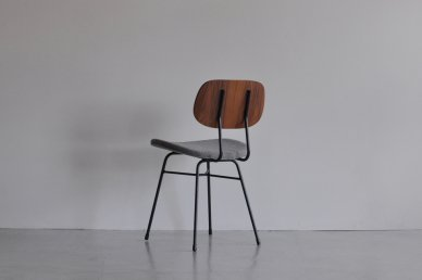 Plankton chair H (teak x gray) - ad(analogue from digital)