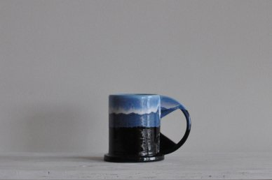 Large Mug (two-tone) 002 - Echo Park Pottery (Peter Shire)