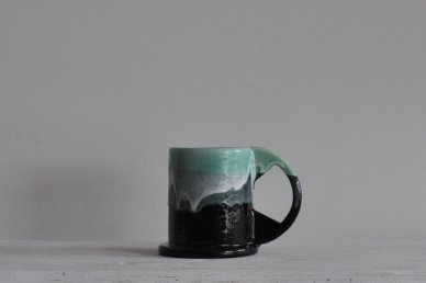Large Mug (two-tone) 003 - Echo Park Pottery (Peter Shire)
