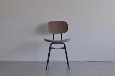 Plankton chair H (walnut x gray-136) - ad(analogue from digital)