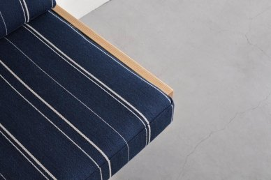 Day Bed Sofa L (stripe 4) - ad(analogue from digital)