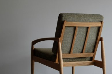 Paper Knife Sofa 1seat (oak x mix 8) - Kai Kristiansen