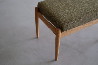 Paper Knife Sofa Ottoman (oak x mix 8) - Kai Kristiansen