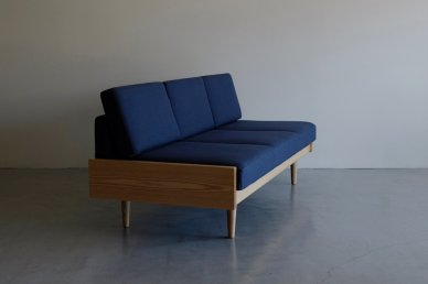 Day Bed Sofa L (navy) - ad(analogue from digital)