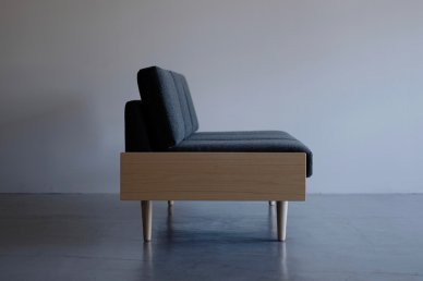 Day Bed Sofa L (gray) - ad(analogue from digital)