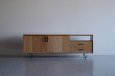 Low board・one open type (W1400 / Natural) - Mark manna furniture service