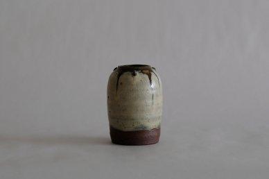 わら灰釉小瓶子 012 - 深澤 和弘(Kazuhiro Fukazawa)