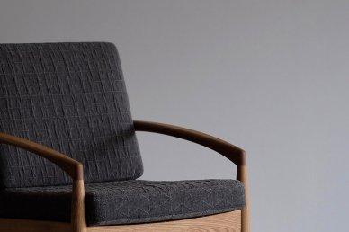 Paper Knife Sofa 1seat (oak x △95) - Kai Kristiansen
