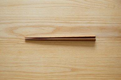 三角箸・黒 (クリ) - graf