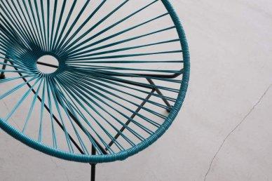 Acapulco Chair (petrol blue)