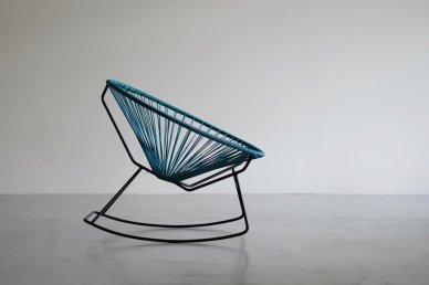 Acapulco Rocking Chair (petrol blue)