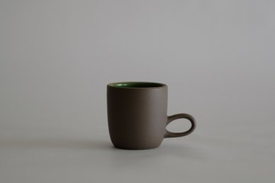 Studio Mug (Verde/Cocoa) - Heath Ceramics