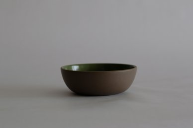 Cereal Bowl (Verde/Cocoa) - Heath Ceramics