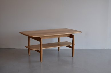 Paper Knife Center Table (oak/w1000) - Kai Kristiansen