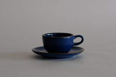 Teacup & Saucer (Moonstone) - Heath Ceramics