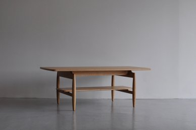 Paper Knife Center Table (oak/w1200) - Kai Kristiansen