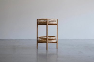Basket+Wood stand - Mark manna furniture service