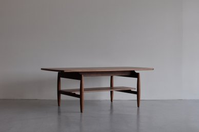 Paper Knife Center Table (walnut/w1200) - Kai Kristiansen