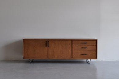 Low board・standard type (W1400 / M, brown) - Mark manna furniture service
