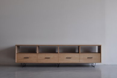 Low board・open type (W1800 / Natural) - Mark manna furniture service