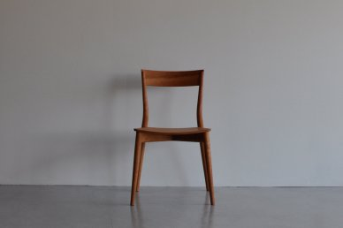 azuki chair (black cherry・板座) - Keishi Yoshinaga