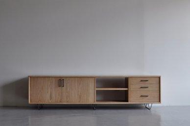 Low board・standard type (W1800 / Natural) - Mark manna furniture service