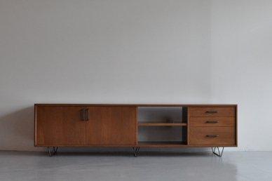 Low board・standard type (W1800 / M, brown) - Mark manna furniture service
