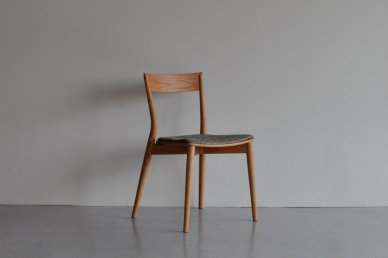 azuki chair (black cherry/cushion・holly gray) - Keishi Yoshinaga