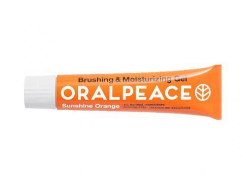 オーラルピース ORALPEACE 歯みがき&口腔ケアジェル サンシャインオレンジ 50ml