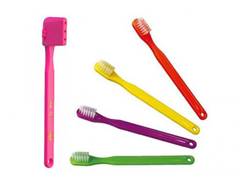 歯科医院専用商品 PHB 子供用歯ブラシ プチ 5本セット( 歯ブラシキャップ付)ネオングリーン・ネオンピンク・ネオンパープル・ネオンオレンジ・ネオンイエ…