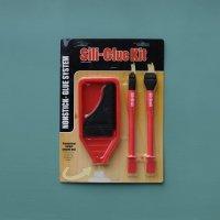 Sili-Glue Kit 接着剤シリコン製/トレー/ブラシ/キット【87】