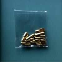 HAFELE スプ−ン型棚ダボ5mmΦ用耐荷重80kg10個ゴールド【830】