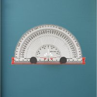 INCRA Rules Protractor,/160mm 【121】