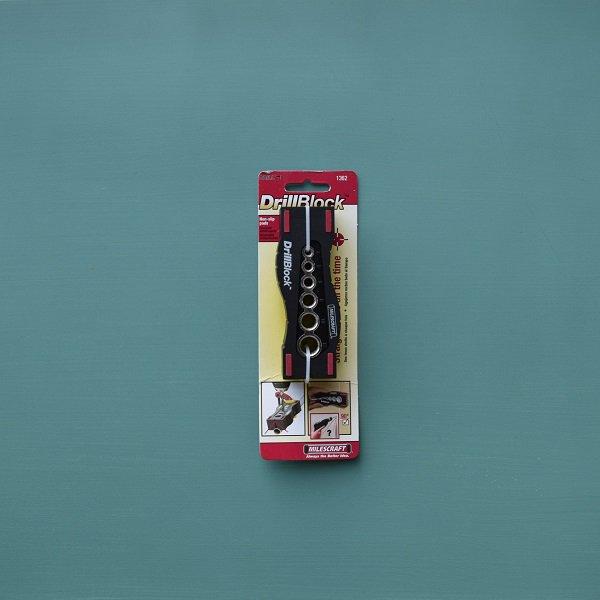 1362 MILESCRAFT Drill Block【1030】ゆうパケット