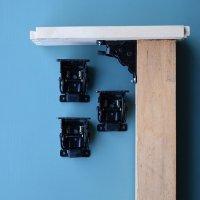 テーブル折脚金具4個セット【1927998】