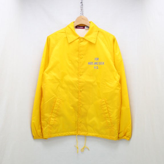 HIDE&SEEK H&S×OSC Team JKT:YELLOW