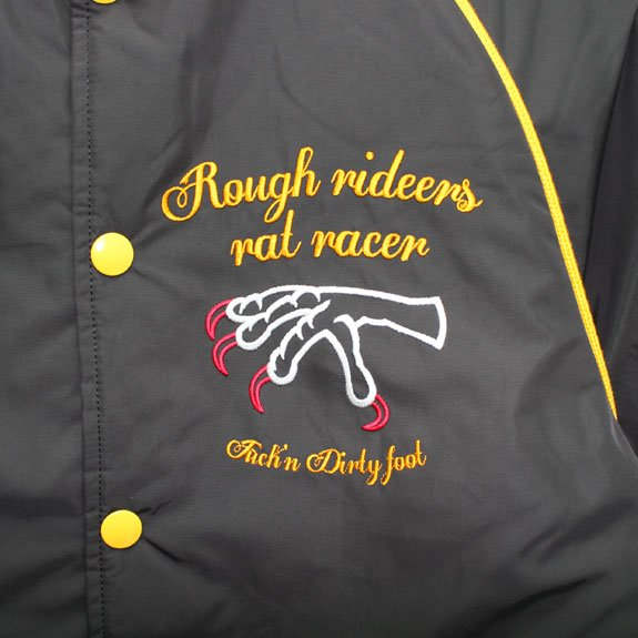RATS ROUGH RIDERS TEAM JKT (B TYPE):BLACK