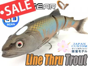 Savage Gear Japan/Line Thru Trout 【限定モデル】
