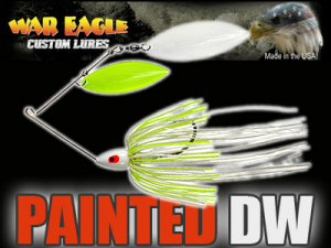 WAR EAGLE/Painted Spinnerbaits 【DW】