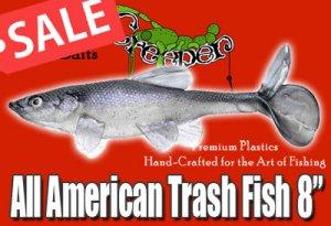 Little Creeper/All American Trash Fish 8