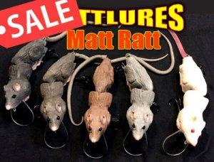 MATT LURES/ Matt Ratt