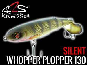 river2sea/ ホッパープロッパー 130 Whopper plopper 130 【Silent】