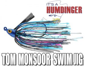 T&J Lures/HUMDINGER TOM MONSOOR SWIM JIG